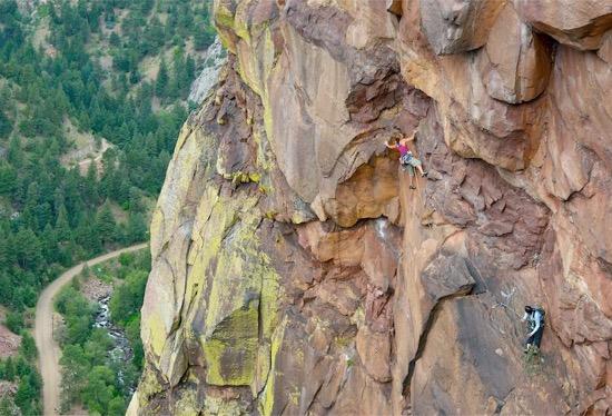 intro-heidi-climbing-eldorado-canyon